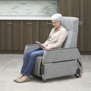general examination chair / electric / on casters / reclining