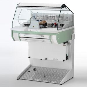 dental laboratory workstation with hood