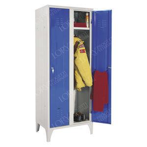 storage locker / locker room / for veterinary clinics / with shelf