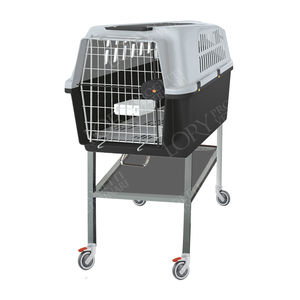 cat veterinary cage / modular / stainless steel