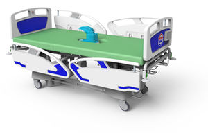 medical bed / hospital / electric / height-adjustable