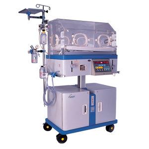 neonatal incubator on casters / height-adjustable / Trendelenburg