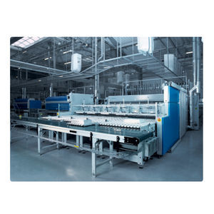 sheet folder with stacking system