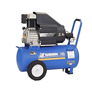 medical air compressor / on casters / portable