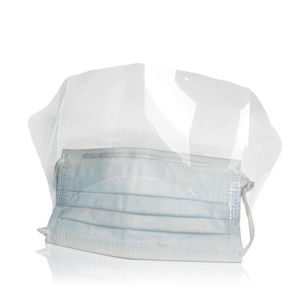 surgical mask with visor