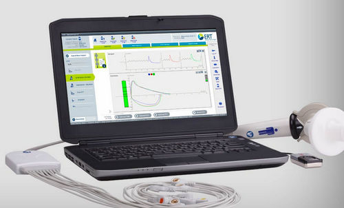portable spirometer / computer-based / with ECG monitor