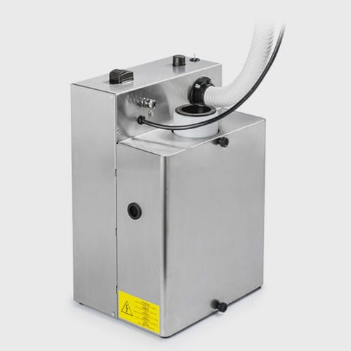 dental sandblaster dust suction unit / portable