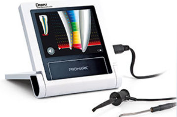 dental apex locator with touchscreen