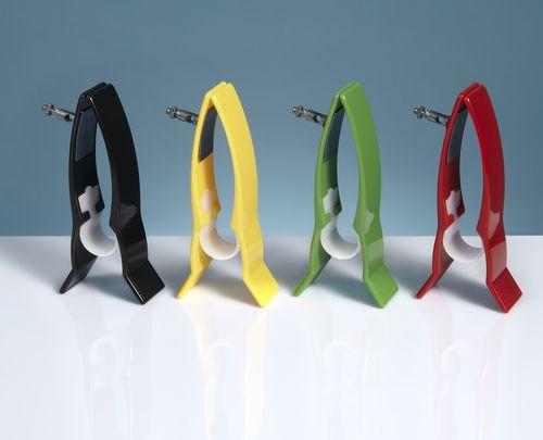 clamp electrode / ECG / reusable