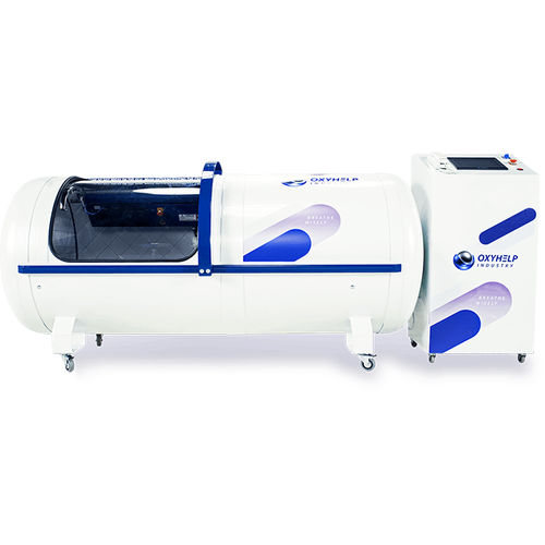 oxygen therapy hyperbaric chamber / on casters / monoplace