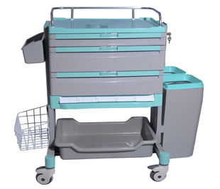 storage cart / treatment / for medicine / with drawer