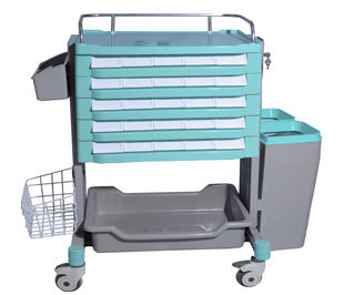 storage cart / treatment / medicine / with drawer