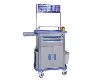 anesthesia cart / with wardrobe / with door / with shelf