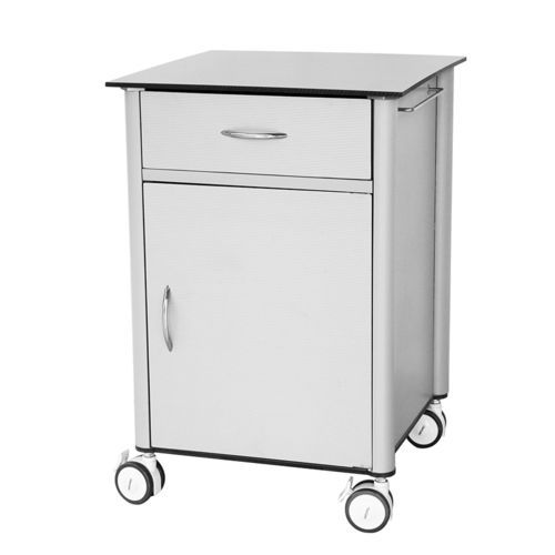 bedside table on casters