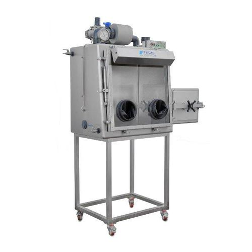 class III glove box / laboratory / for the pharmaceutical industry / for research