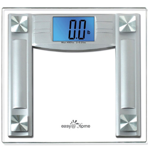 digital patient weighing scale / electronic / with LCD display / battery-powered