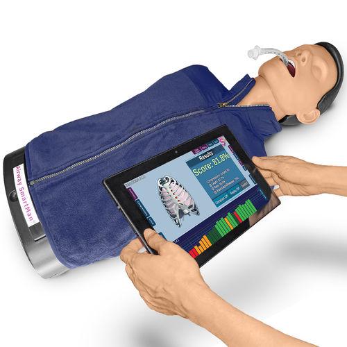 airway management training manikin / CPR / adult / torso