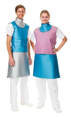 X-ray protective skirt / X-ray protective thyroid collar / X-ray protective apron / front protection