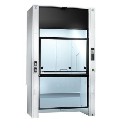 laboratory fume cupboard / deep / walk-in