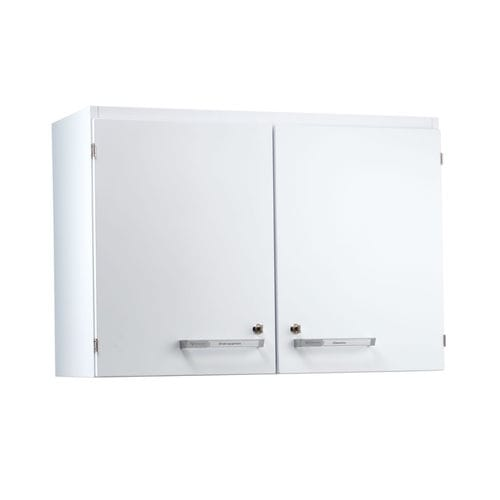 laboratory cabinet / 2-door / wall-mounted