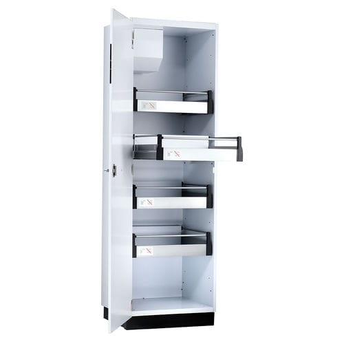 chemical product cabinet / laboratory / with drawer