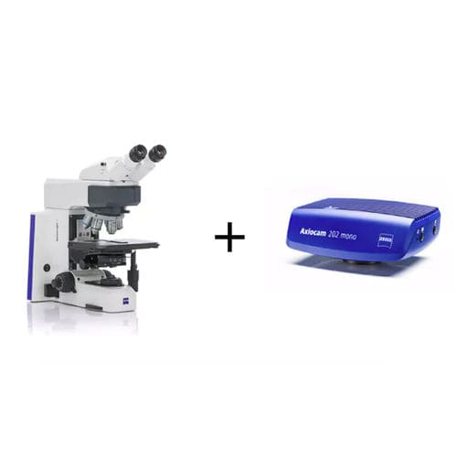 laboratory microscope / for biology / optical / binocular