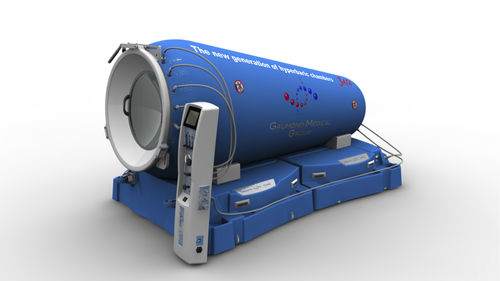 oxygen therapy hyperbaric chamber / containerized / monoplace