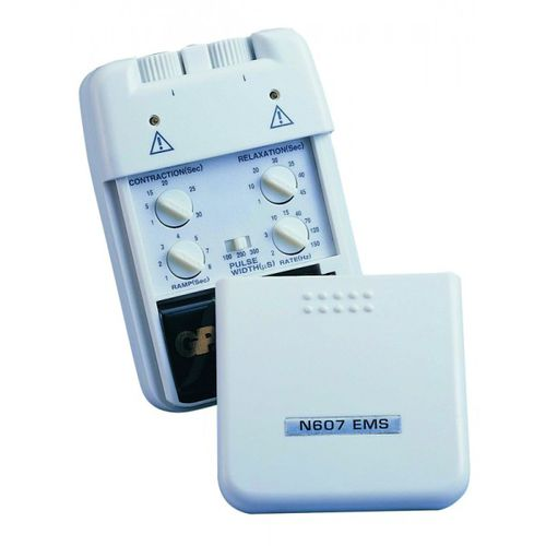 electric stimulator / hand-held / EMS / 2-channel