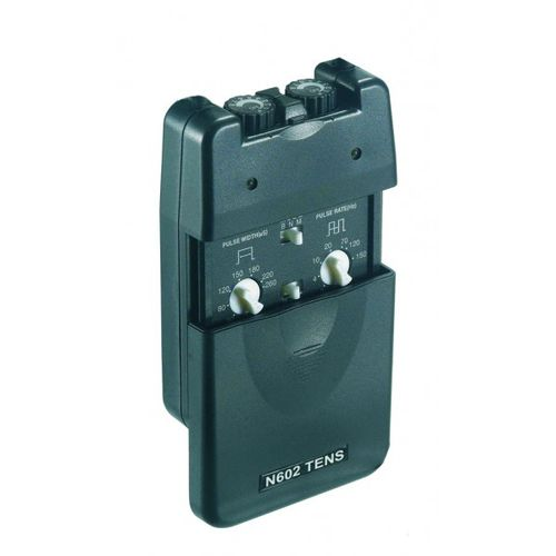 electric stimulator / hand-held / TENS / 2-channel