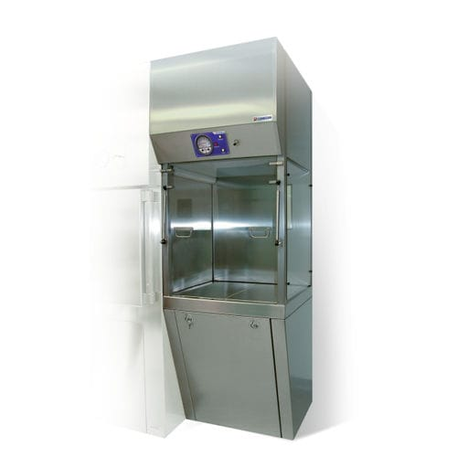 fume hood for the pharmaceutical industry / radiochemistry / containment / floor-standing