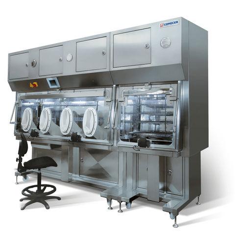 class III isolator / for sterility testing / dispensing / transfer