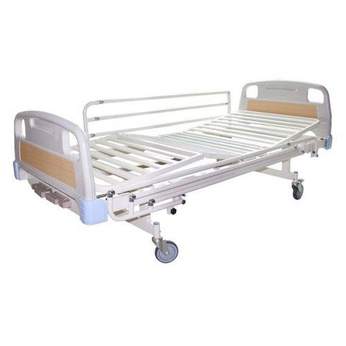 hospital bed / manual / tilting / on casters