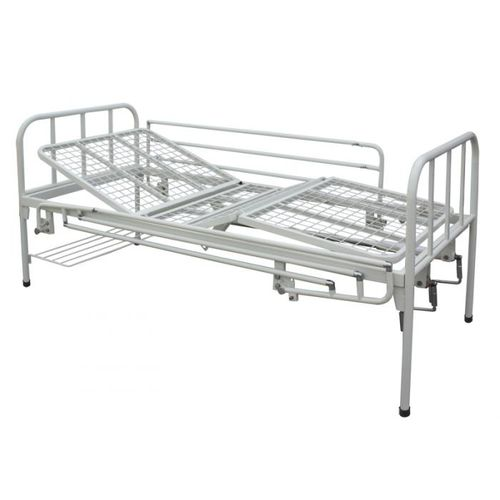 hospital bed / manual / tilting / 4-section