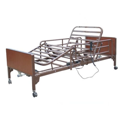 medical bed / homecare / electric / height-adjustable