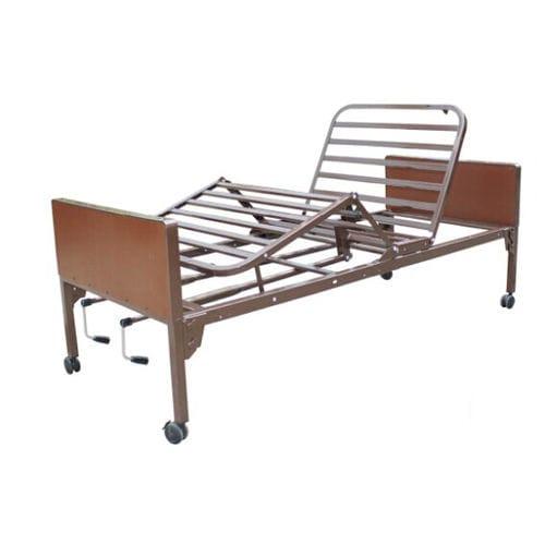 medical bed / homecare / manual / tilting