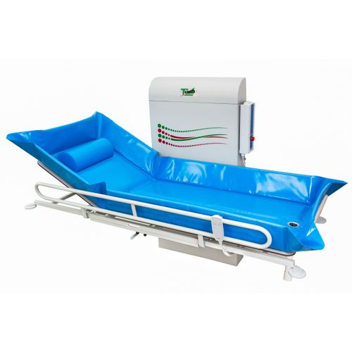 height-adjustable shower stretcher / wall-mounted / electric