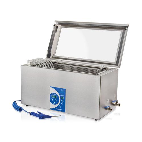 ultrasonic laboratory bath / stainless steel