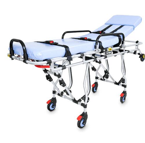 transport stretcher trolley / rescue / manual / folding