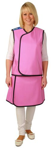 X-ray protective apron / X-ray protective skirt / side protection / rear protection