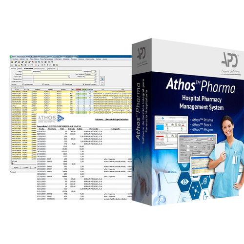 patient data management software / prescription / billing / control