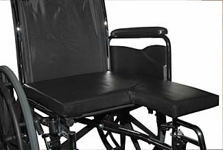 seat cushion / positioning / for wheelchairs / amputee