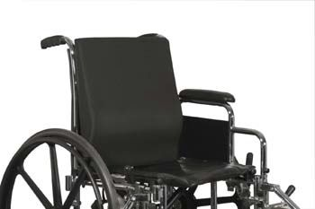 back positioning cushion / lumbar support / for wheelchairs / foam