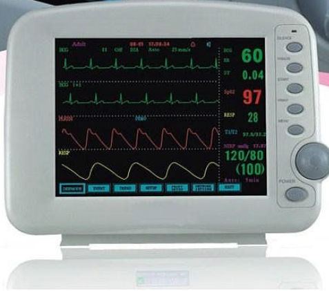 ECG patient monitor / NIBP / SpO2 / intensive care