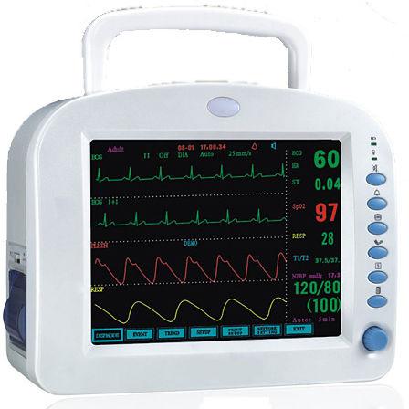 ECG patient monitor / EtCO2 / NIBP / IBP