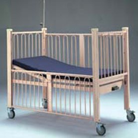 medical bed / electric / pediatric / 1-section