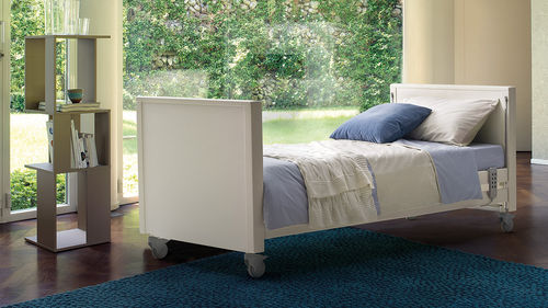 homecare bed / medical / electric / height-adjustable