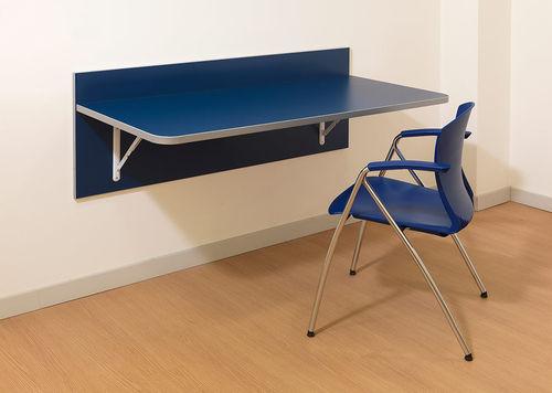 dining table / rectangular / folding / wall-mounted