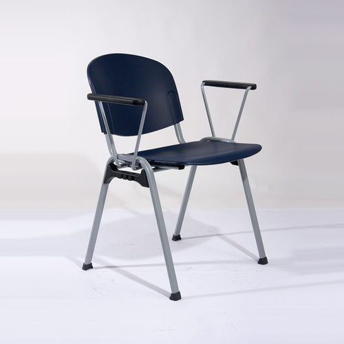 waiting room chair / office / dining room / with armrests