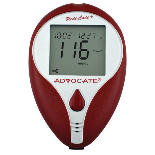 no coding blood glucose meter