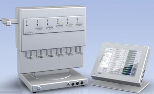 multi-channel infusion pump / volumetric / adult